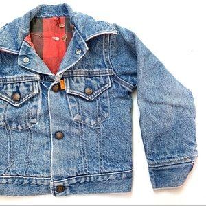 🌸🌵🌼Levi's | Toddler Vintage Orange Tab Jacket